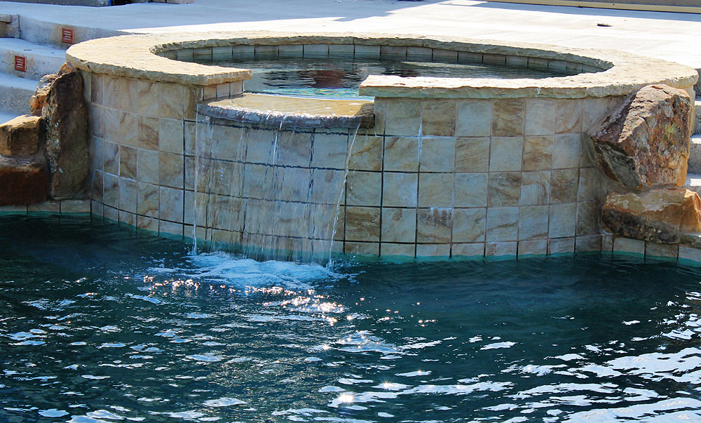 Water Features on Swimming Pools TX