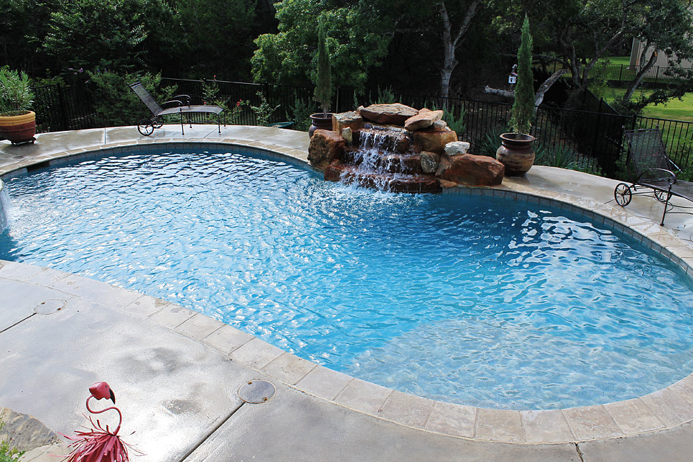 Texas New Swimming Pool Construction