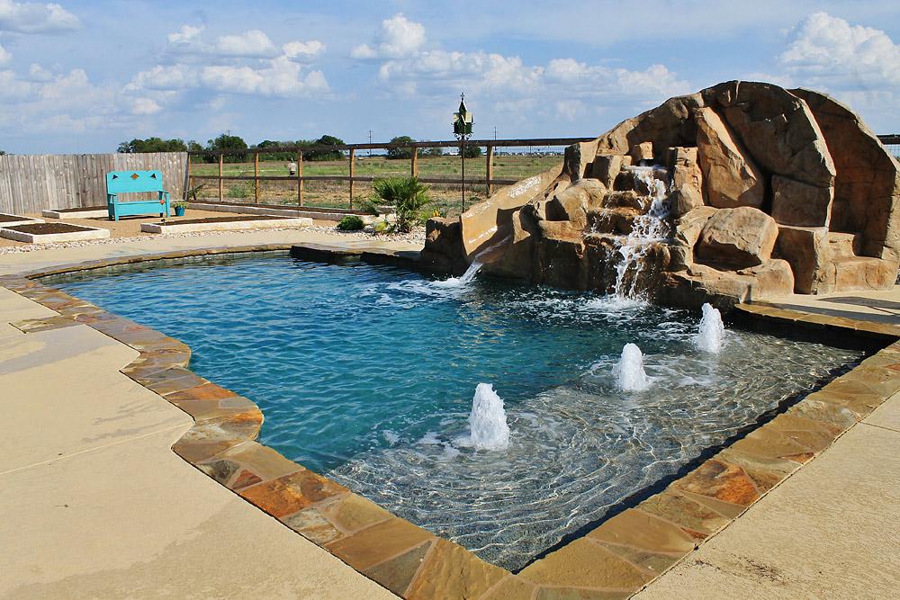 Pool spa construction Texas