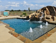 Pool spa construction Texas