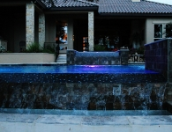 Water Features on Swimming Pools Texas